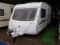 SUPERB 2008 Swift Coastline 480 SE 2 Berth End Washroom Caravan with MOTOR MOVER