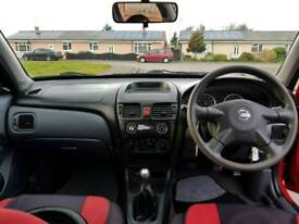 Nissan almera 1.5S petrol