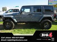 2014 Jeep Wrangler Unlimited Rubicon, LIFT, TIRES, WHEELS!