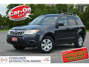 2011 Subaru Forester 2.5 X AWD HEATED SEATS A/C CRUISE