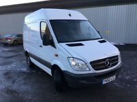 Mercedes Sprinter 310,SWB,62reg-2012,Mot October 2018, 141k miles, MB History, 1 owner, No Vat