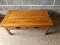 Oak Furniture Land Rustic Coffee Table