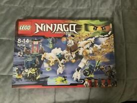 Lego Ninjago Master Wu Dragon 70734