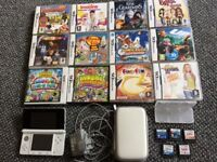 Nintendo 3ds white & 17 games plus more