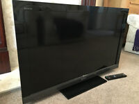 "Sony Bravia 40"" Full HD Internet Widescreen Lcd TV Built in Digital Freeview"