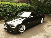 BMW 335d coupe M sport with only 59,500 mileage. Top of range