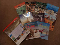 Set of 9 kids information books by Kingfisher in excellent condition