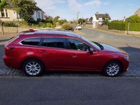 2014 Mazda 6 2.2 TD SE-L Nav Tourer Full Service Hist - 11m MOT, Front/Rear Parking Sensors