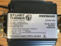 Shower Pump - Stuart Turner Monsoon S2.0 Bar Twin