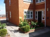 Laceyfields Rd, Heanor. 1 bed ground floor flat. Set back from the road on private grounds.