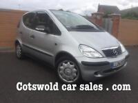 Mercedes A140 5 door , classic se auto 18,000 miles !!!!relaxing high up driving position