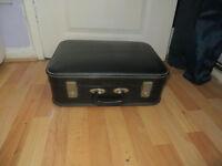 suitcase, black case