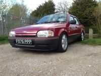 FORD ORION 1.6CVH MK2 CLASSIC SHOW BARGAIN CHEAP FAST RARE