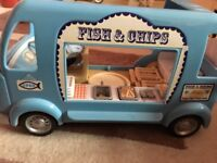 Sylvanian families fish and chip van for sale  Lincolnshire