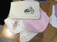 3x gorgeous baby blankets, one brand new 2 as new, smoke and pet free house