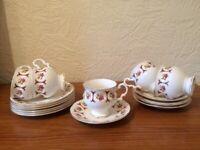 Antique fine bone China Tea set