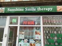 Sunshine inspire you and caring you Chinese therapy