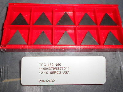 Pro Carbide Turning Inserts Tpg-432-n60 Qty. 10 20482432