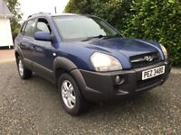 Hyundai Tucson crtd cdx 4x4 super jeep in great condition full leather fully serviced cookstown