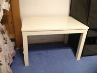 White IKEA Side Table - £5