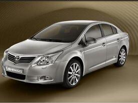 Toyota avensis t4 d4d diesel 2009 new model one owner60000 ful history longmot mintcar full leather