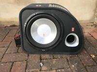 Fli 1200w sub with built in amp
