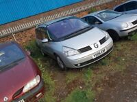 7 SEATER, 11 MONTHS MOT, POWER LOSS POWER LOSS POWER COMES AND GO, HENCE PRICE, VERY GOOD CONDITION