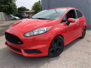 2014 Ford Fiesta ST NAV LEATHER/CLOTH MOON ROOF