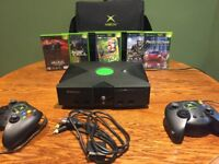 Orignal XBOX and 5 Games