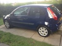 2008 FORD FIESTA STYLE 1.25 BLUE 58 REG MOT 18/8/2017 EXCELLENT CONDITION