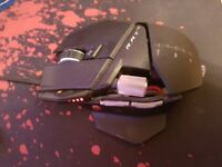 Gaming mouse Mad catz rat 5 up to 5600DPI Fully customizable size and weight