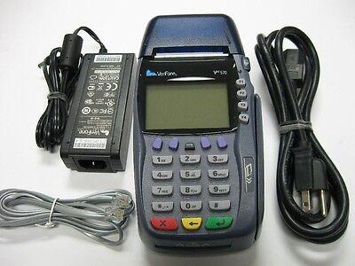 Verifone Vx570 Emv Dial Ethernet Terminal W Smart Chip Reader