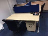 Office desks X4 (can deliver)