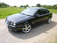 JAGUAR X-TYPE SPORT PREMIUM - 2008 - 2.2l - BLACK - FSH - MOT FEB2017 - LOVELY CAR FOR £4600