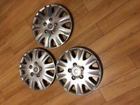 Vauxhall Corsa wheel trims