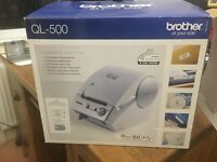 Professional label printer - 'Brother QL-500'