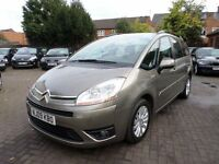 Citroen GRAND C4 PICASSO 1.6 HDi 16v VTR+ EGS 5dr 2009 (09 REG) BROWN, DIESEL, 7 SEATER, HPI CLEAR