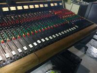 Trident Trimix 39-8-2 (48) channel Analog Console Mixer