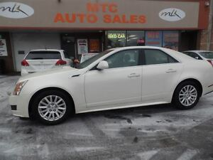2013 Cadillac CTS AWD, LEATHER, PAN SUNROOF, BACKUP CAM