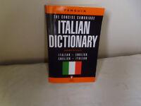 ENGLISH - ITALIAN DICTIONARY.
