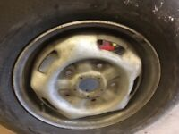 215 75 16 spare tyre ford transit