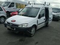 Vauxhall Combo 1.3 CDTI 05 plate 44000 miles breaking for spares.
