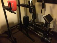York Fitness Workout Station / Marcy Multi Gym / Various Weights & Bars
