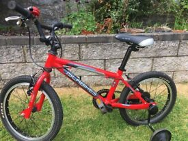 Isla bike CNOC16 including stabilisers - great condition!
