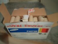 Cardboard tubes for arts or crafts or gardening planting seeds