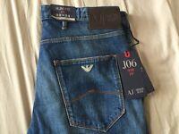 Armani Jeans J06 Mid Wash Blue (tailored)