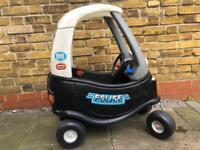 Little Tikes police car