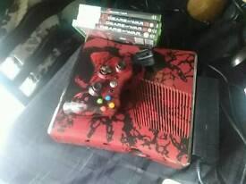 Xbox 360 gears of war edition 320gb hd