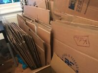 50 Moving Boxes - assorted sizes