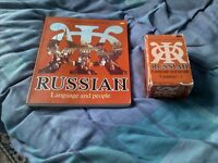 Russian Language and People Book and Audio Cassette Tapes For Sale
